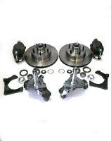 Mustang Ii Big Disc Brake Kit + 2 Drop Spindles & 11 Rotors Street Rod Dropped
