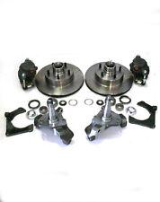 "Mustang II Big Disc Brake Kit + 2"" Drop Spindles & 11"" Rotors street rod dropped"