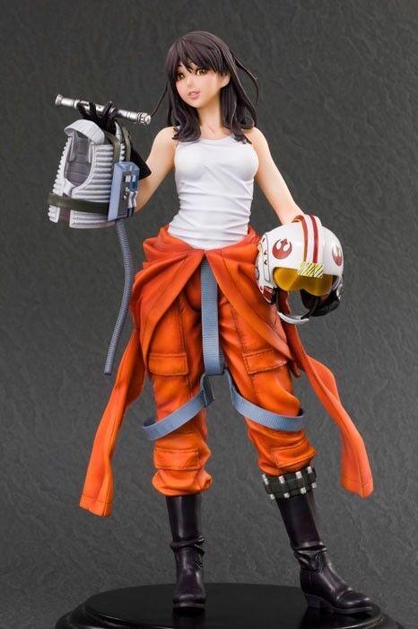 Jaina Solo, Star Wars 1 7 Scale PVC Figure Kotobukiya GENUINE Collectable