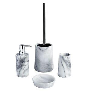Showerdrape-Athena-White-Marble-Bathroom-Accessories-Soap-Dish-Tumbler-Toilet