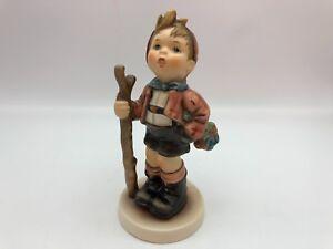 Hummel-Figurine-760-IN-Die-Wide-World-5-1-2in-1-Choice-Pot-Condition