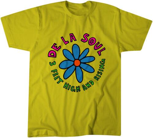 environ 0.91 m DE LA SOUL 3 FT High and Rising PROMO T-Shirt-Classique Hip-hop-Native Tongu