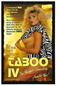 Image Is Loading X Poster Taboo Iv By Kirdy Stevens Tb