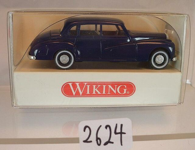 Wiking 1:87 836 03 21 Mercedes Benz 300 dunkelblau OVP