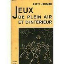 JEUX DE PLEIN AIR ET D INTERIEUR  JENTZER