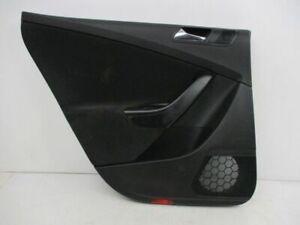 Door Panel Left Rear Black VW Passat Variant (3C5) 2.0 Tdi 3C9867211CC