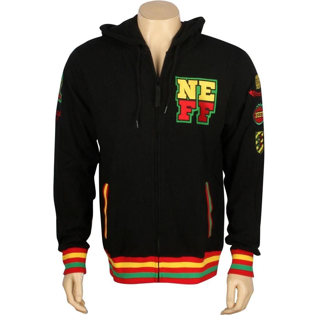 79.99 Neff Snoop Fizzle Zip Hoody (rasta) F13608RST