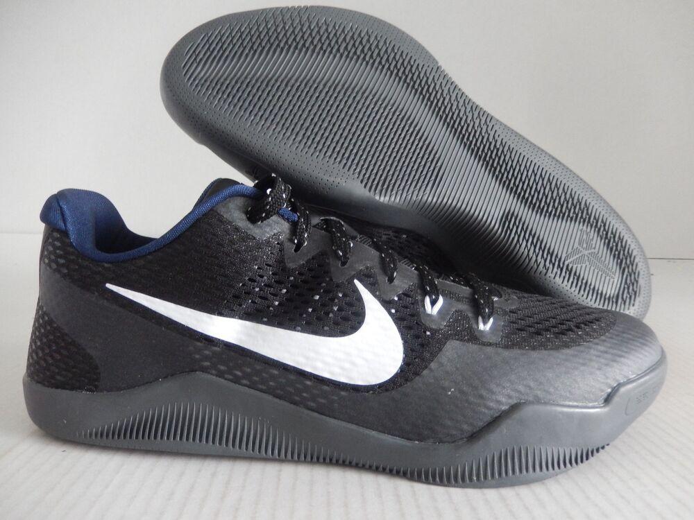 NIKE KOBE XI 11 ID Noir- blanc -BLUE  Chaussures et de sport pour hommes et Chaussures femmes 2d0cea
