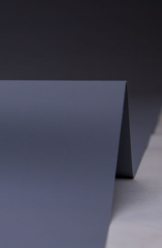 Telón de fondo de vinilo gris tormenta Pro Series 750gsm 3x8m