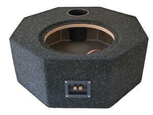 Reserverad-Leergehaeuse-GR-XXL-Durchmesser-59-cm-Bassreflex-komplett-beflockt