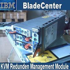IBM Bladecenter KVM Redunden Management Module 48P7055 FRU 73P9326