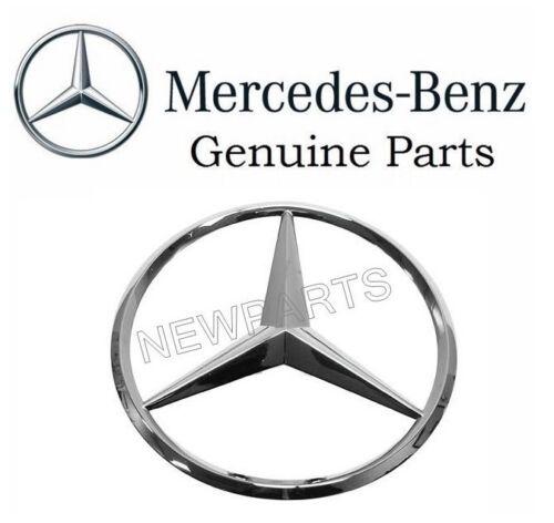 For Mercedes w212 SEDAN Trunk Star GENUINE Chrome Emblem Badge Insignia Deck Lid