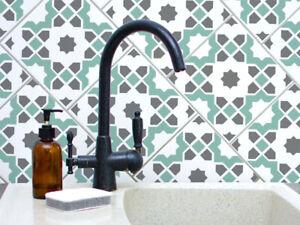 Agadir Carrelage Pochoir Home Decor Carrelage Motif Pochoir Peinture Murs Planchers Reutilisable Pristonnet Com