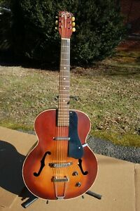 1950' Ssilvertone Harmony H-38 Espanada Guitare W Lipstick Pick-ups-ne Harmony H-38 Espanada Guitar W Lipstick Pick-ups Fr-fr Afficher Le Titre D'origine