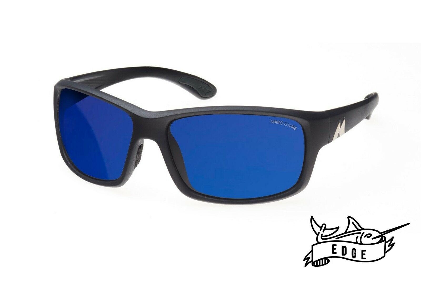 Mako EDGE- bluee Glass Mirror Sunglasses Polarised MO1 9604 G1HR6 + Shirt