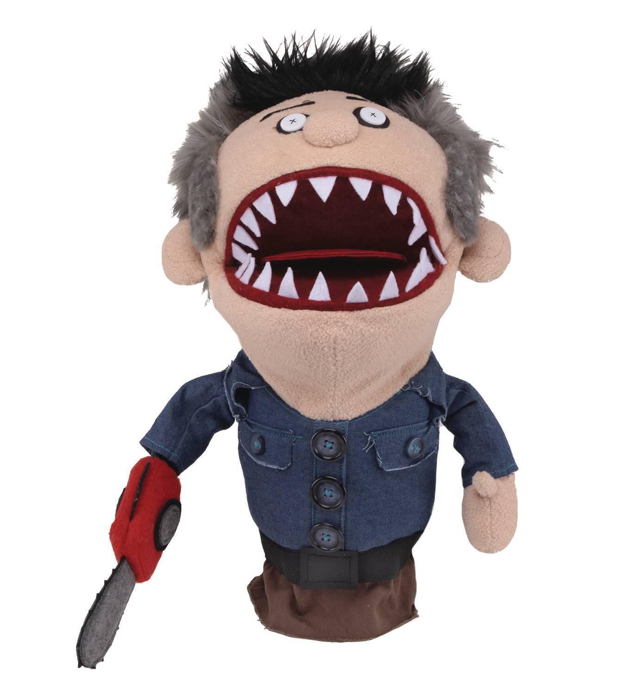 Ash vs. evil dead 15 zoll hand marionette - besessen aschfahl slashy marionette