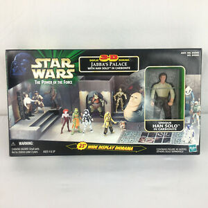 Star-Wars-Jabba-039-s-Palace-3D-Diorama-Display-with-Han-Solo-in-Carbonite