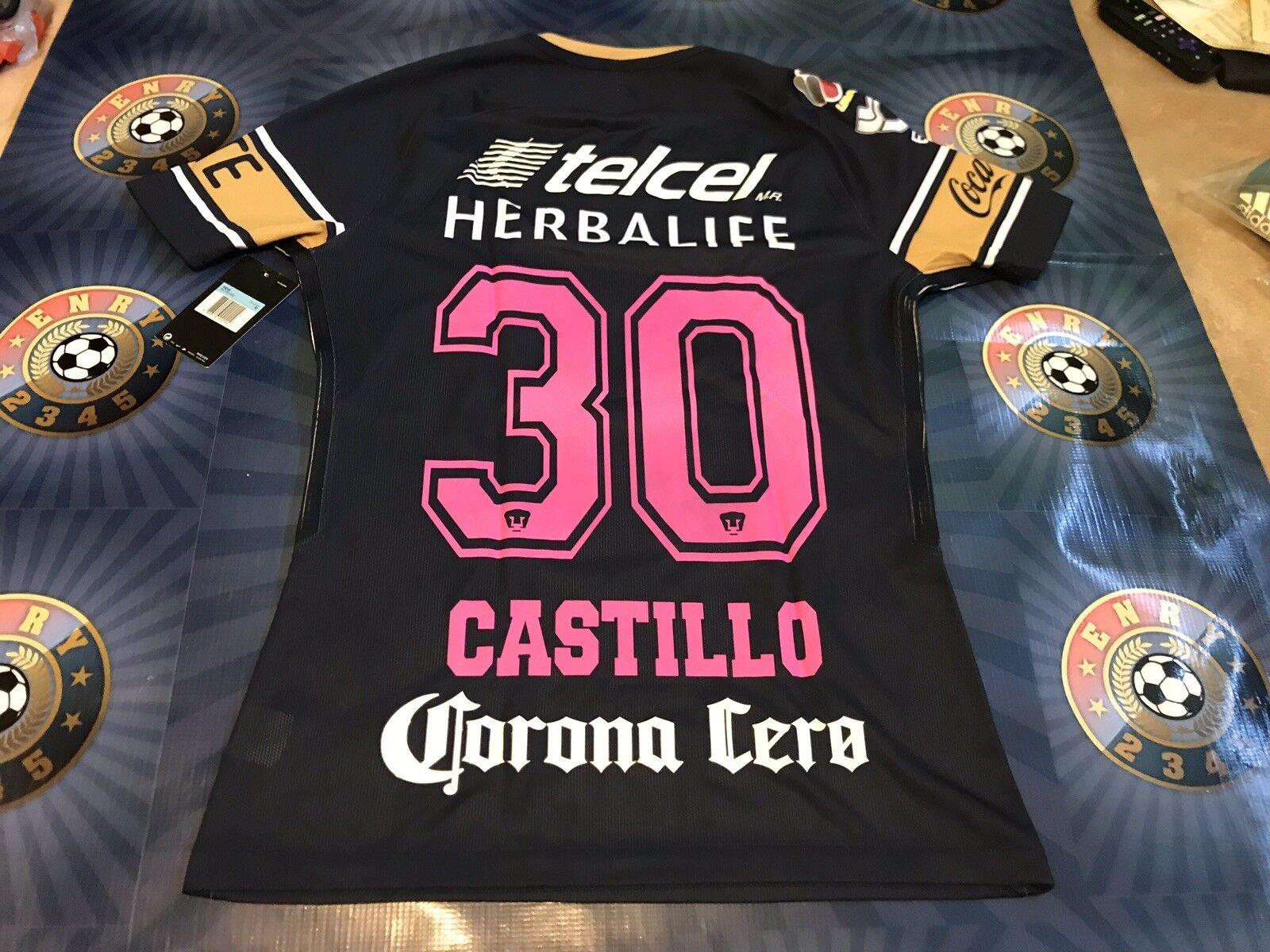 Jersey Match Nicolás Castillo Mes Del Cancer De Mama 2017