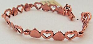 Copper-Bracelet-8-in-Linked-Wheeler-Sciatcia-Arthritis-Healing-Folklore-cb-295
