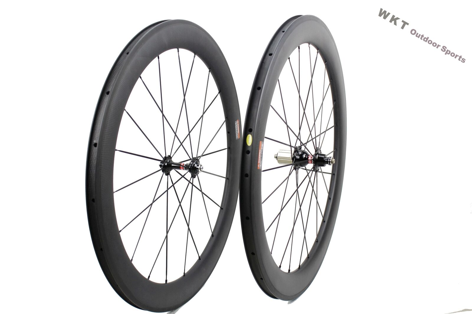 25mm width 60mm clincher carbon wheelset 700C road bicycle full carbon clincher