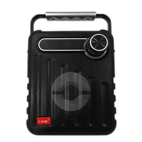 s l1600 - ALTAVOCES  PORTATILES BLUETOOTH 10W RADIO FM USB TF AUX CS-T20 ALTAVOZ RETRO LUZ