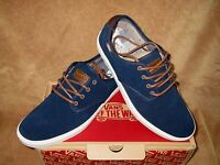 Vans Ludlow Suede Craft Shoe Dress Blues/antique Men's 10.5