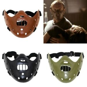Movie Silence Of The Lambs Hannibal Lecter Resin Mask Cosplay Halloween Costume Ebay This terrifying serial killer had been imprisoned and secured using a lead jacket and a face mask, which has become iconic with the. details about movie silence of the lambs hannibal lecter resin mask cosplay halloween costume