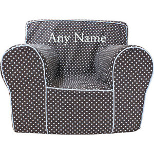 Insert For Pottery Barn Anywhere Chair Chocolate Microdot
