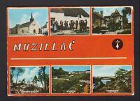 MUZILLAC (56) CHAPELLE , CHATEAU & COSTUMES en 1970