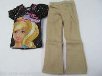 Prince Ken Action Man G.i.joe Dolls I Love Barbie T-shirt & Trousers Outfit Uk
