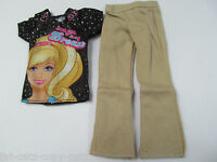 Prince Ken Action Man G.i.joe Dolls I Love Barbie T-shirt & Trousers Outfit Uk