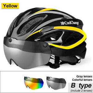 Mountain Bike  Helmet Adjustable Mens Womens Adult Sport Cycling Bicycle S8A7
