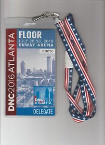 House-of-Cards-Screen-Used-Prop-2016-DNC-Delegate-Floor-Pass-W-Lanyard