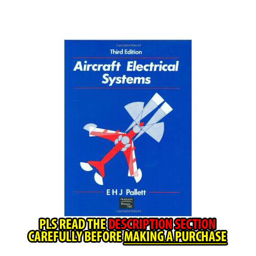 Aircraft Electrical Systems Ehj Pallett Pdf