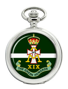 Vert-Howards-Armee-Britannique-Poche-Montre