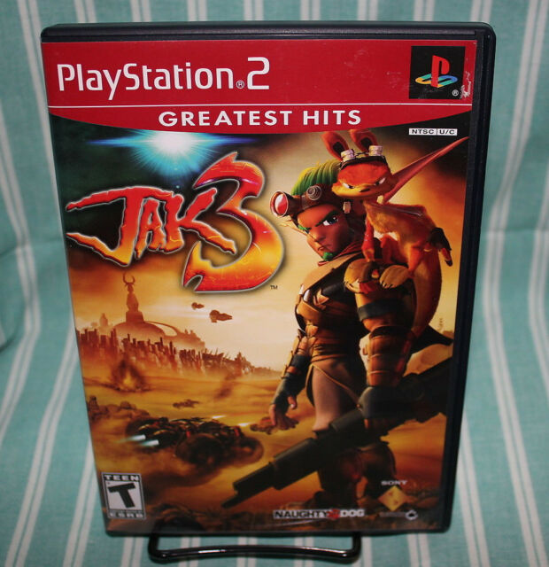 Jak 3 PS2 COMPLETE CIB Playstation 2 Naughty Dog Sony Free Shipping