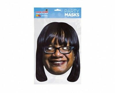 DIANE Abbott politico Britannico 2D Card Party Face Mask