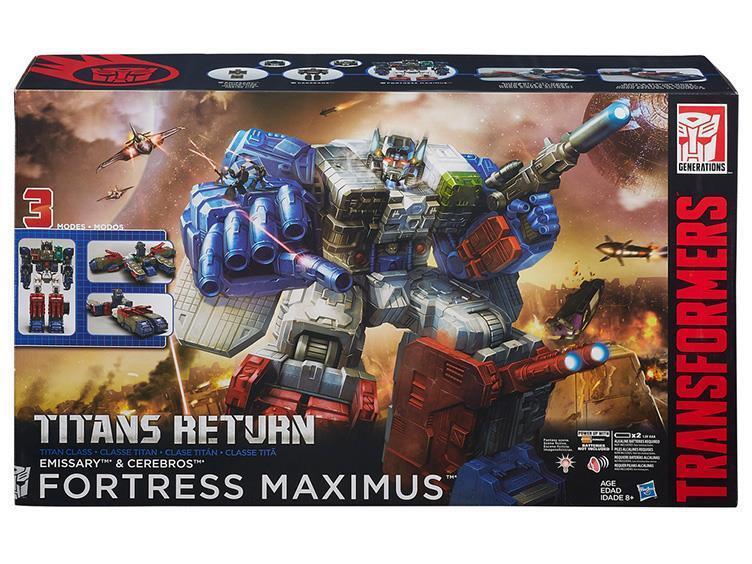 Transformers Generations Titans Return Fortress Maximus Emissary Cerebros  UK