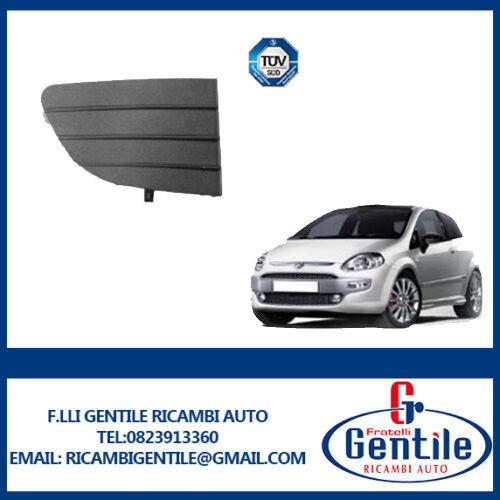 FIAT PUNTO EVO dal 2009 al 2012 Griglia paraurti anteriore sinistra CARBON METAL