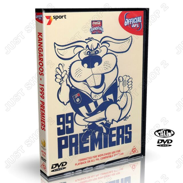 AFL Grand Final Premiers 1999 - North Melbourne Kangaroos Football Club :New DVD