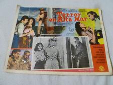 VINTAGE MEXICO LOBBY CARD TERROR EN ALTA MAR DOROTHY DANDRIDGE JAMES MASON MGM >
