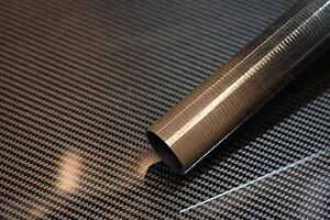 Cello Gloss Finish Carbon Fiber Tube Uni 1.75 x 1.87 x ~14 inch