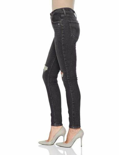 High Femme Bandit 721 Levi's Skinny Jean Noir Rise Av8pxqR