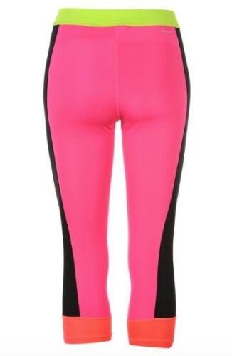 Adidas 3S Damen 3//4 Hose Capri Pants Jogginghose Pink Gelb Schwarz alle Größen