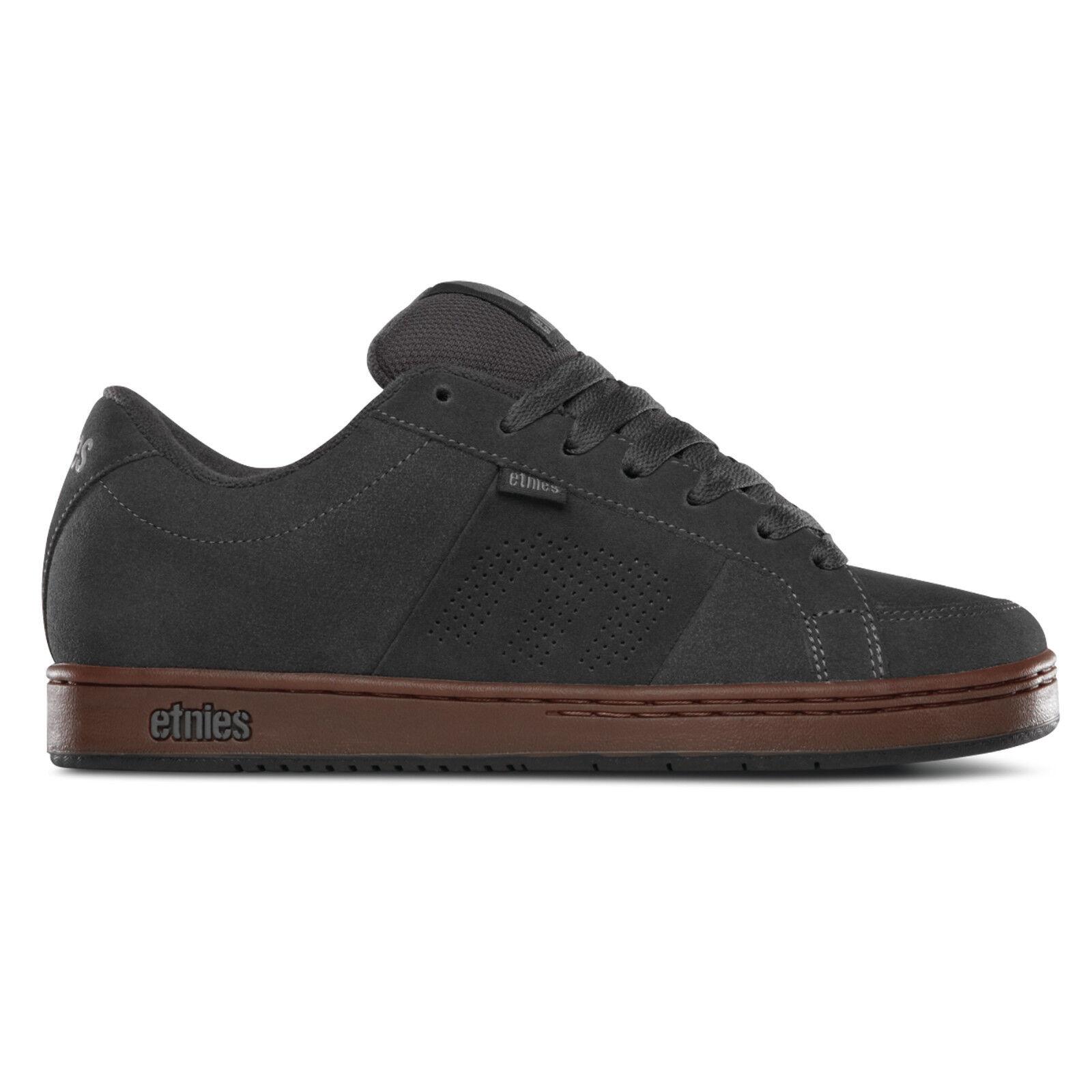 Etnies - Kingpin Sneaker Herren Skate Darkgrey/Black/Gum Skateschuh Schuhe
