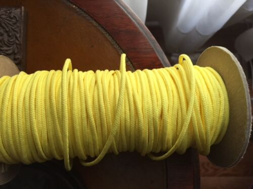 Yellow Lacrosse String 5 or 10 yards 15 or 30 feet top sidewall bottom stick