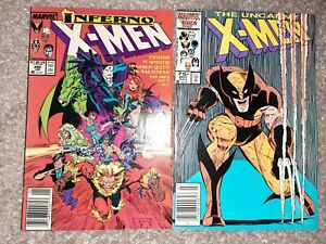Wolverine original Art Recreation Logan Uncanny XMen 207 and 240
