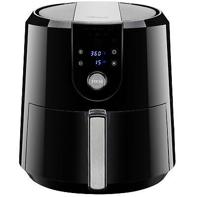 Xl Digital Air Fryer 5 8qt 5 5l 1800w Temp Timer Settings