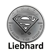 5$ Kanada / Canada Silber / Silver Superman 2016 1 OZ