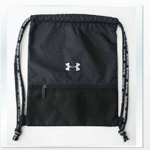 f3099ac35942 Under Armour Med Drawstring Backpack Nylon Unisex Gym Bag Lock Sack ...